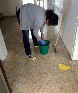 Voegen schoonmaken 2