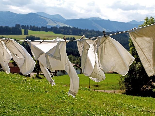 Het wasgoed stinkt