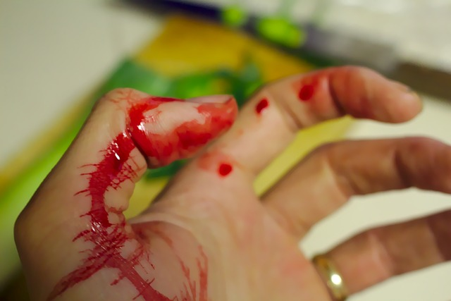 Bloed uit kleding verwijderen